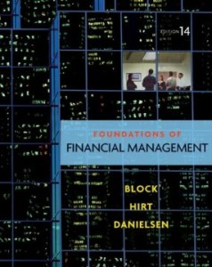 Test bank for Foundations of Financial Management 14th Edition by Block