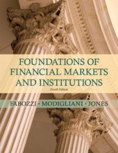 Test bank for Foundations of Financial Markets and Institutions 4th Edition by Fabozzi