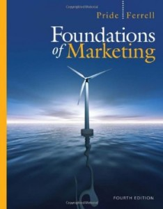 Test bank for Foundations of Marketing 4th Edition by Pride