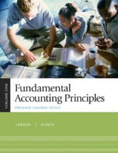 Test bank for Fundamental Accounting Principles 13th Canadian Edition by Larson