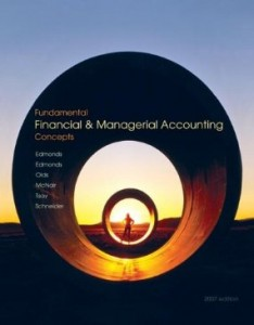 Test bank for Fundamental Financial and Managerial Accounting Concepts 1st Edition By Edmonds