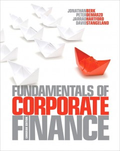 Test bank for Fundamentals of Corporate Finance 1st Canadian Edition by Berk