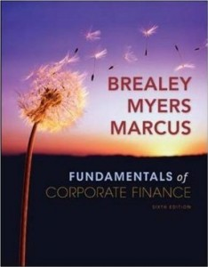Test bank for Fundamentals of Corporate Finance 6th Edition by Brealey