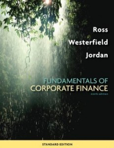 Test bank for Fundamentals of Corporate Finance 9th Edition by Ross