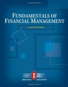 Test bank for Fundamentals of Financial Management 12th Edition by Brigham