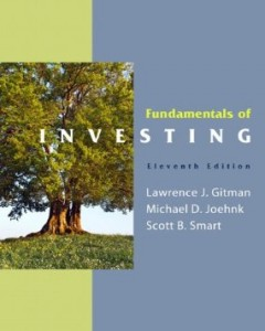 Test bank for Fundamentals of Investing 11th Edition by Gitman