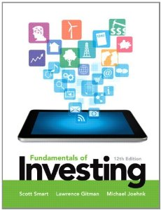 Test bank for Fundamentals of Investing 12th Edition by Smart