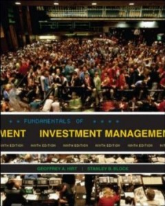 Test bank for Fundamentals of Investment Management 9th Edition by Hirt