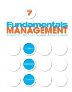 Test bank for Fundamentals of Management 7th Edition by Robbins