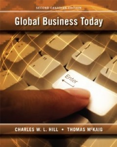 Test bank for Global Business Today 2nd Canadian Edition by Hill