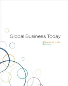 Test bank for Global Business Today 6th Edition by Hill