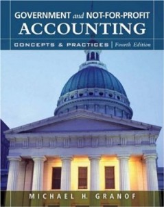 Test bank for Government and Not for Profit Accounting Concepts and Practices 4th Edition by Granof