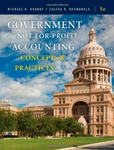 Test bank for Government and Not for Profit Accounting Concepts and Practices 5th Edition by Granof