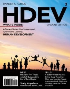 Test bank for HDEV 3rd Edition by Rathus