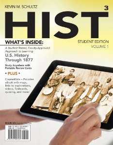 Test bank for HIST Volume 1 US History Through 1877 3rd Edition by Schultz