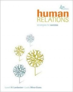 Test bank for Human Relations 4th Edition by Lamberton