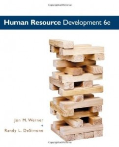 Test bank for Human Resource Development 6th Edition by Werner