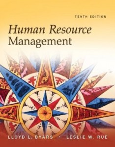 Test bank for Human Resource Management 10th Edition by Byars