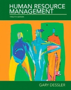 Test bank for Human Resource Management 12th Edition by Dessler