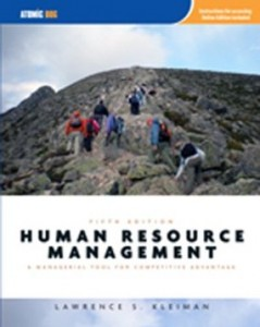 Test bank for Human Resource Management A Managerial Tool for Competitive Advantage 5th Edition by Kleiman