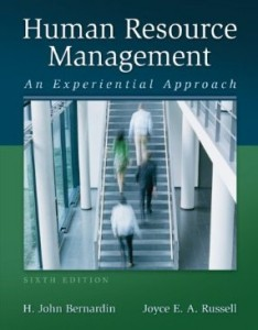 Test bank for Human Resource Management An Experiential Approach 6th Edition by Bernardin
