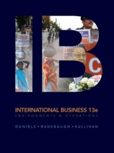 Test bank for IB International Business 13th Edition by Daniels