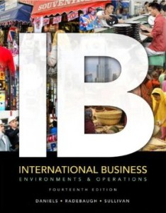 Test bank for IB International Business 14th Edition by Daniels