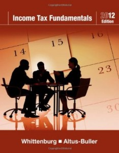 Test bank for Income Tax Fundamentals 2012 30th Edition by Whittenburg