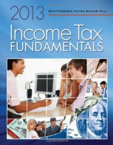 Test bank for Income Tax Fundamentals 2013 31st Edition by Whittenburg