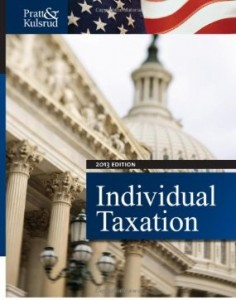 Test bank for Individual Taxation 2013 7th Edition by Pratt