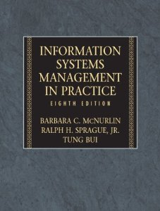 Test bank for Information Systems Management 8th Edition by McNurlin