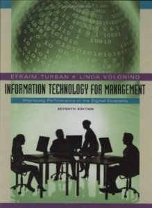 Test bank for Information Technology for Management Improving Performance in the Digital Economy 7th Edition by Turban