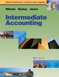 Test bank for Intermediate Accounting 11th Edition by Nikolai