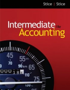 Test bank for Intermediate Accounting 18th Edition by Stice