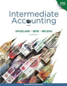 Test bank for Intermediate Accounting 6th Edition by Spiceland