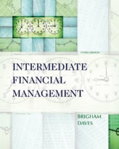 Test bank for Intermediate Financial Management 10th Edition by Brigham