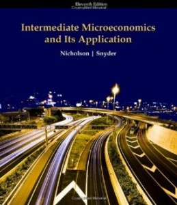 Test bank for Intermediate Microeconomics and Its Application 11th Edition by Nicholson