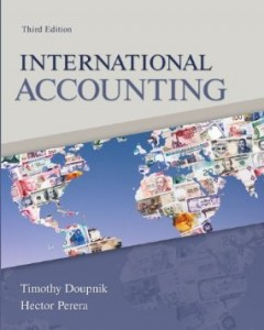 Test bank for International Accounting 3rd Edition by Doupnik
