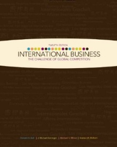 Test bank for International Business The Challenge of Global Competition 12th Edition by Ball