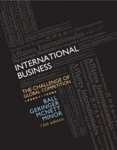 Test bank for International Business The Challenge of Global Competition 13th Edition by Ball