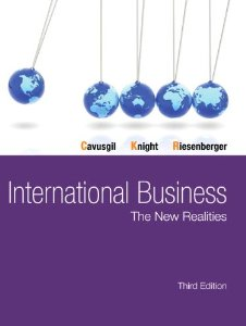 Test bank for International Business The New Realities 3rd Edition by Cavusgil