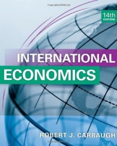 Test bank for International Economics 14th Edition by Carbaugh