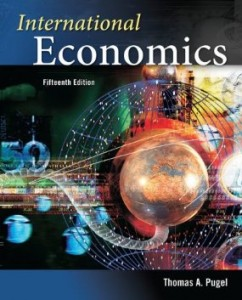 Test bank for International Economics 15th Edition by Pugel