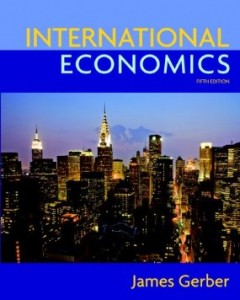 Test bank for International Economics 5th Edition by Gerber