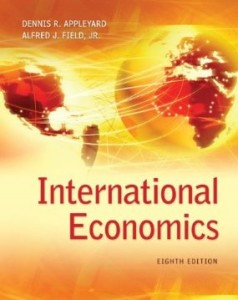 Test bank for International Economics 8th Edition by Appleyard