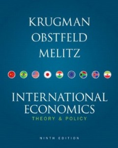 Test bank for International Economics 9th Edition by Krugman