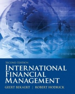 Test bank for International Financial Management 2nd Edition by Bekaert