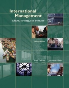 Test bank for International Management Culture Strategy and Behavior 7th Edition by Luthans