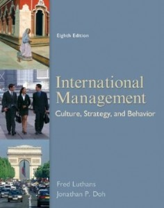 Test bank for International Management Culture Strategy and Behavior 8th Edition by Luthans