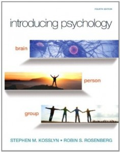 Test bank for Introducing Psychology Brain Person Group 4th Edition by Kosslyn